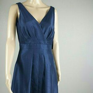 NWT Tahari Navy Blue Sheath Dress.